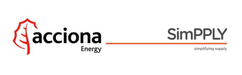 Acciona Energy & SimPPLY logo image